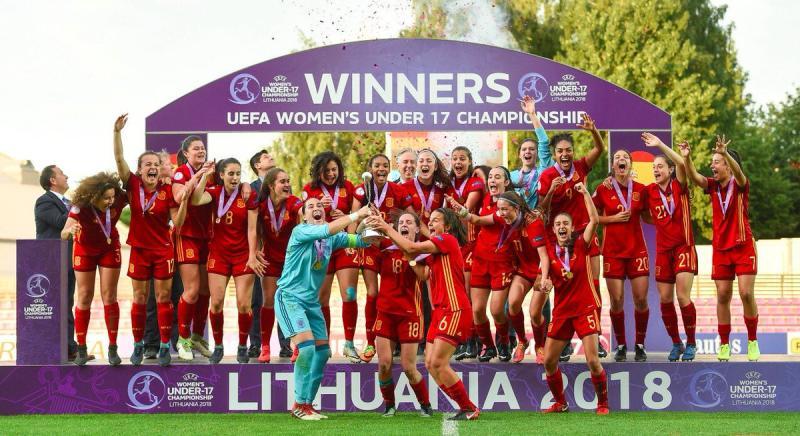 554c155f0c8c0 23 10 2018. Ana Tejada jugará con la Selección Femenina el Mundial Sub 17  de Uruguay