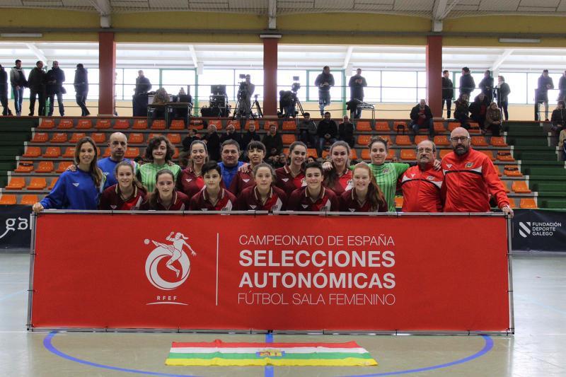1746c02df0c8f La Selección sub 17 de Fútbol Sala se despide con buena nota   La selección  de La Rioja cayó por un claro 7-0 ante las anfitrionas en un partido donde  se ...