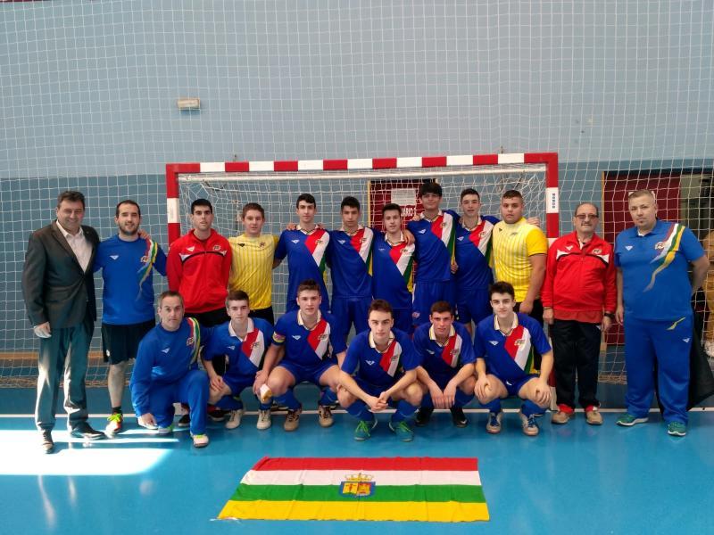 Exiguo balance de la Sub 19 de Futsal en el Campeonato de España   El  balance no es positivo para la Selección Sub 19 Masculina de Fútbol Sala. ad48cce33cbf1
