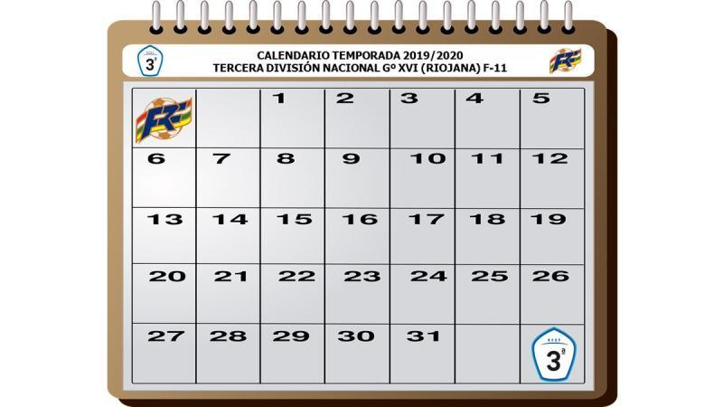 Calendario Tercera Division.Federacion Riojana De Futbol Calendario De Tercera Division